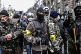 نئوفاشیست ها در خیابان های کیف - گزارش تصویری